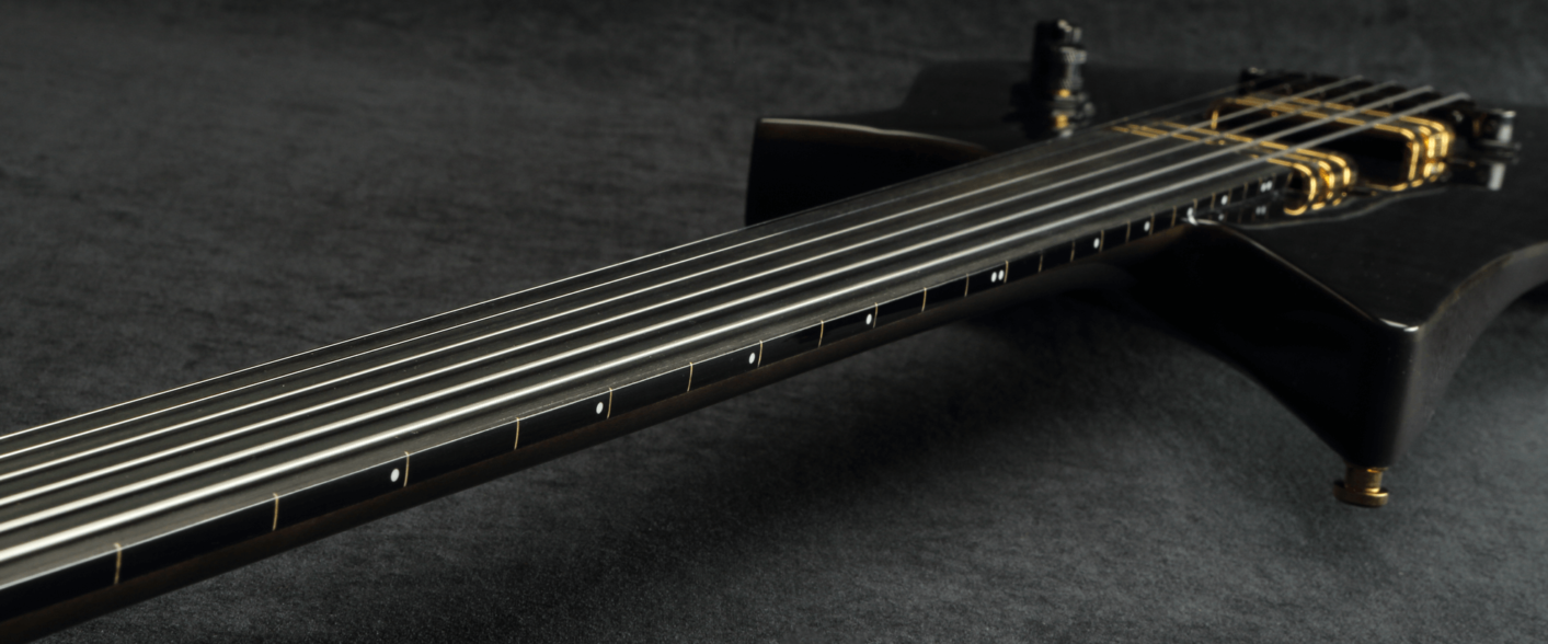 Quilted Fretless Drop2